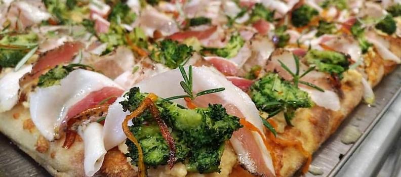 Pizza in Teglia alla Romana + Corsi