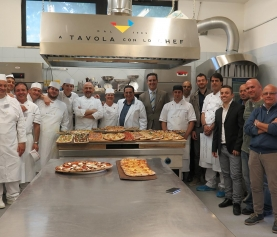 Giornata da Esaminatori nella scuola A Tavola con lo Chef