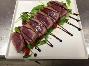 Carne cotta al sangue ristorante